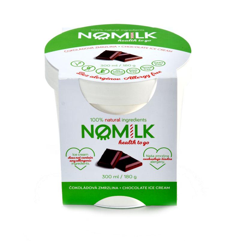 NoMilk - Tejmentes, gluténmentes csokoládé fagylalt